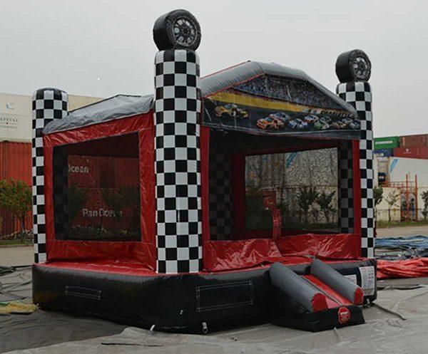 Speedway Race Car Bouncer