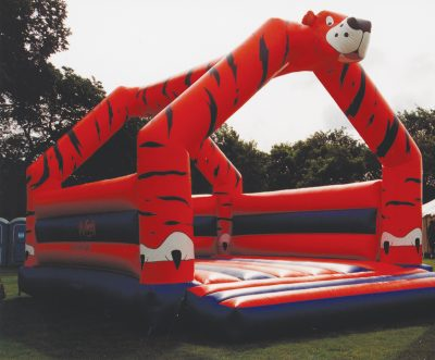 Giant Inflatable Tiger Bouncer