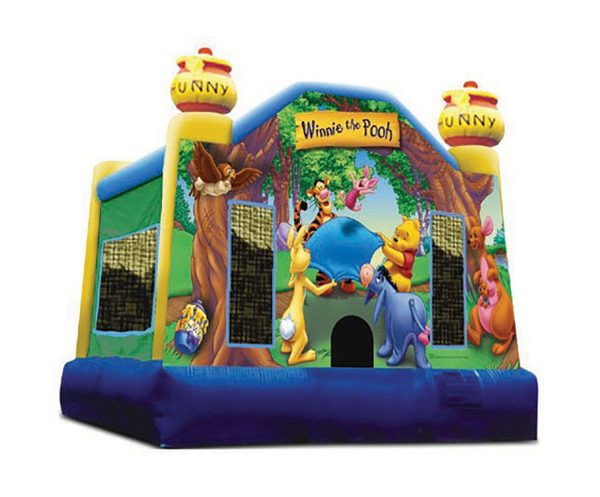 Winnie The pooh Inflatable Bouncer