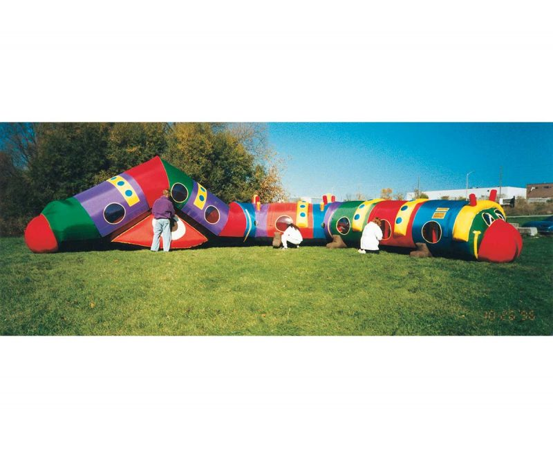Cameron the Caterpillar Giant Inflatable Tunnel
