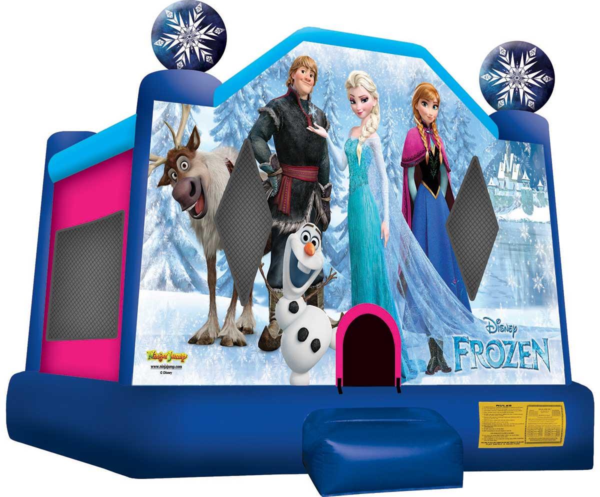 Frozen Bouncer Jump