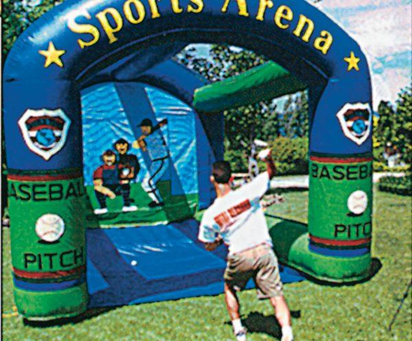 Inflatable-radar-baseball