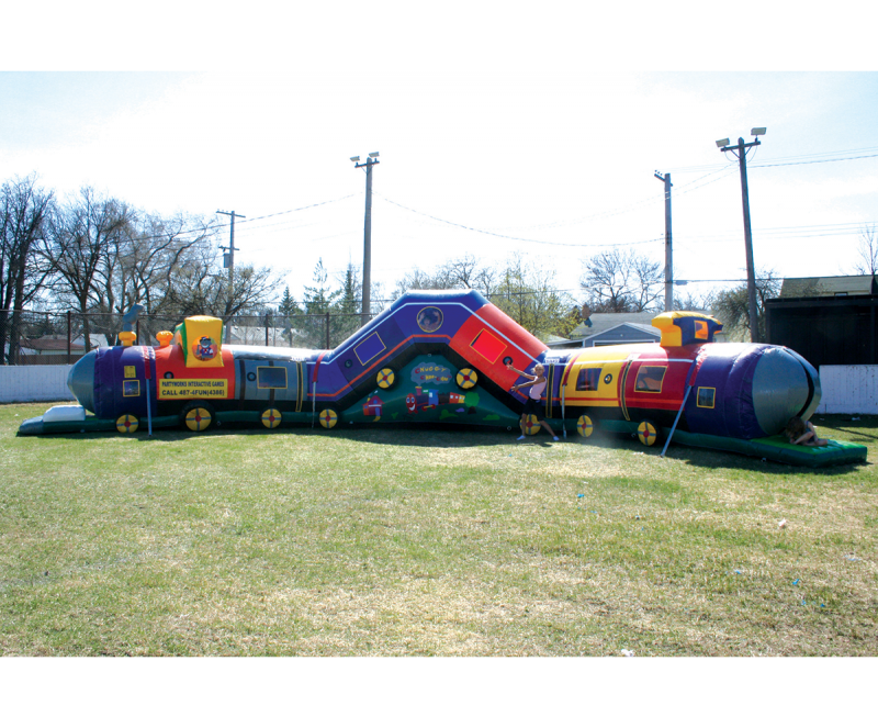 Inflatable TrickyTrain
