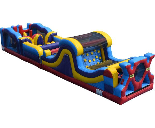 Inflatable Adrenaline Rush Combo Obstacle Course