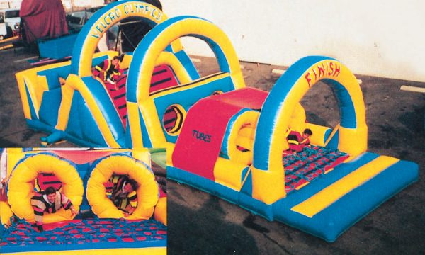 Inflatable Velcro Olympics Areal Shot