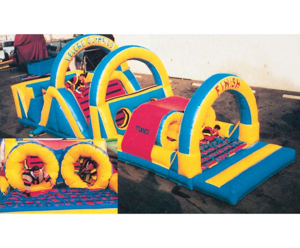 Inflatable Velcro olympics